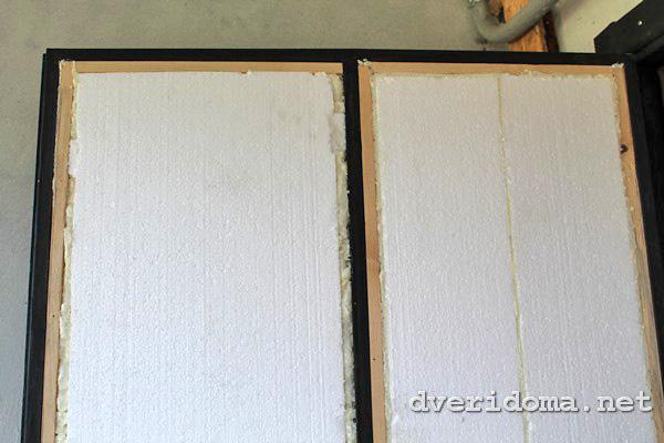 Утеплить железную дверь своими руками фото 725