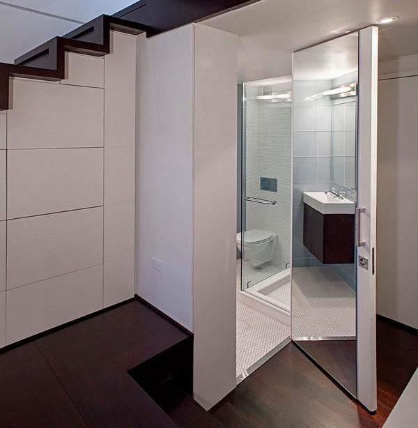 Стеклянные двери в ванную фото