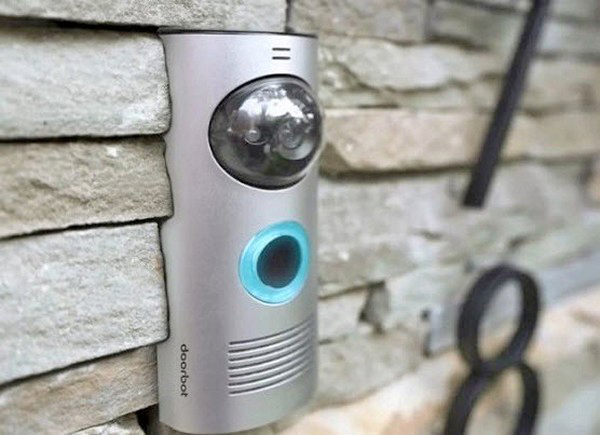 Дверной звонок с камерой фото