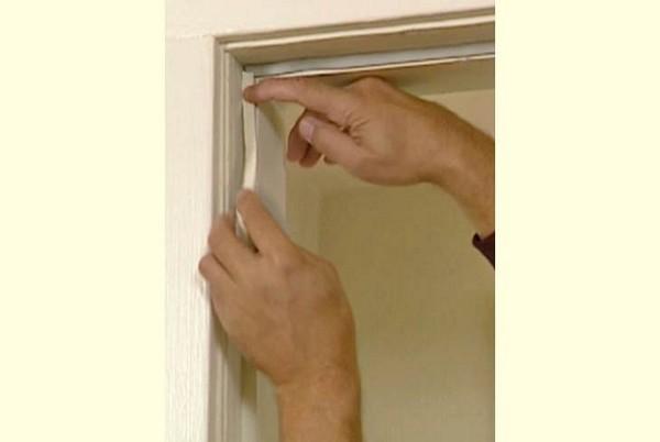 как утеплить входную дверь своими руками фото
