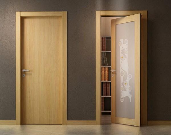 Межкомнатные двери из МДФ ламинированные фото