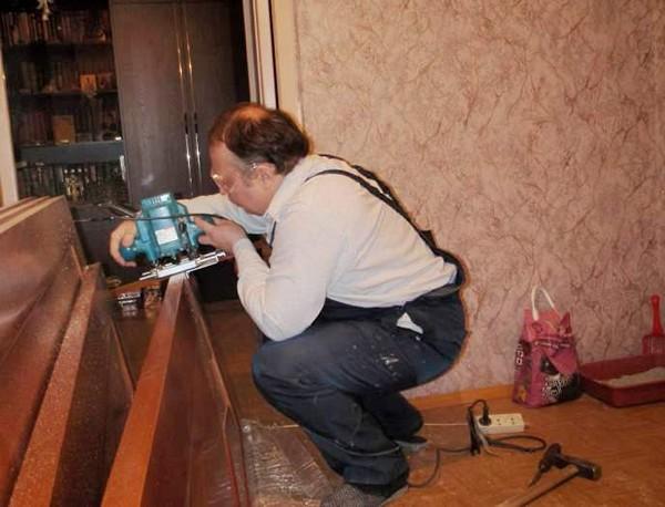 ремонт межкомнатных деревянных дверей фото