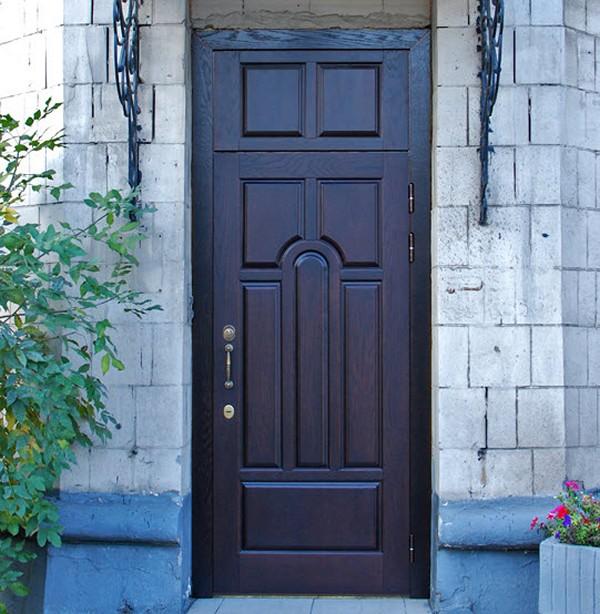 Уличная дверь для частного дома фото