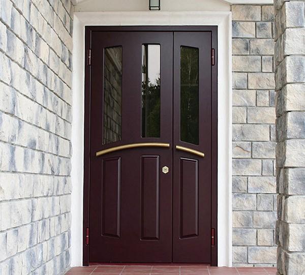уличные двери для частного дома фото