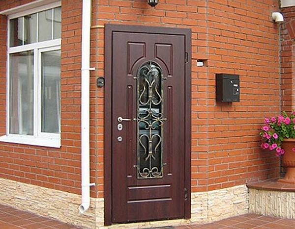 Уличные металлические утепленные двери фото