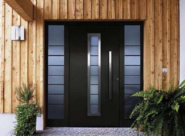 стальные двери двустворчатые фото