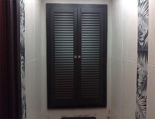 двери жалюзи горизонтальные фото