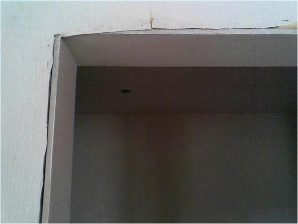 отделка дверного проема гипсокартоном фото