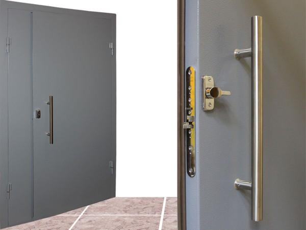 стальные двери в тамбур фото