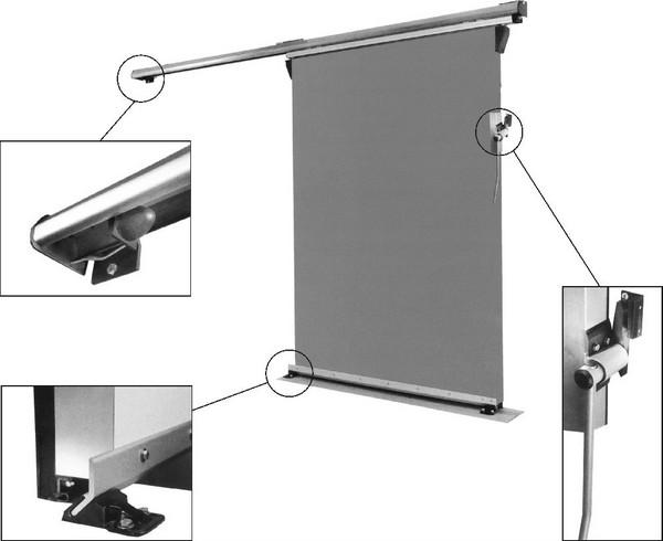 механизм для откатной двери фото