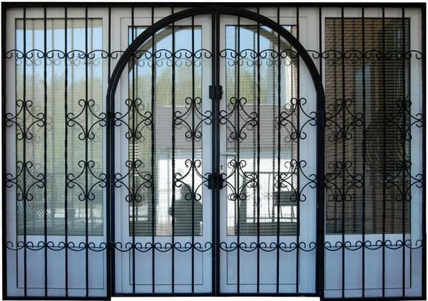 решетчатые двери фото
