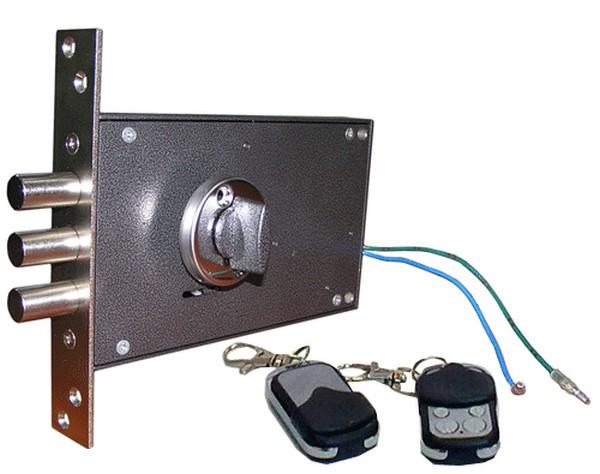 установка кодового замка на металлическую дверь фото