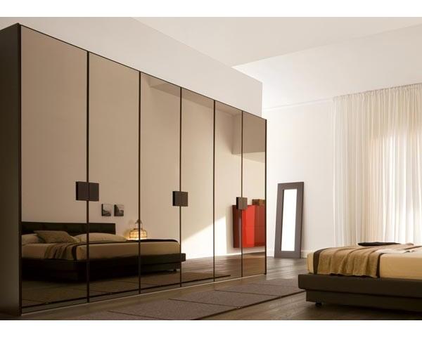 раздвижные зеркальные двери межкомнатные фото