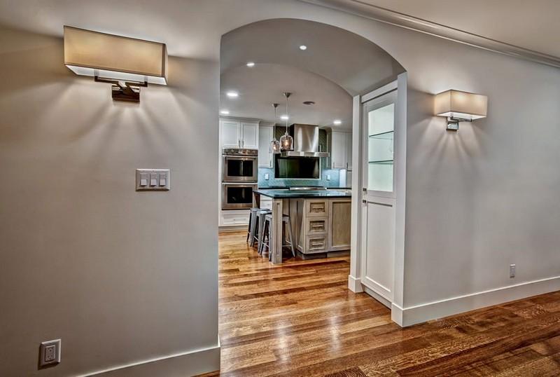 дверной проем на кухню без двери фото
