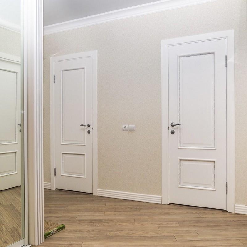 белые двери фото