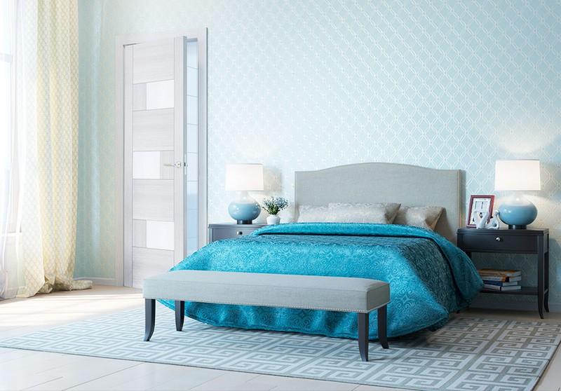 разновидности дверей для спальни