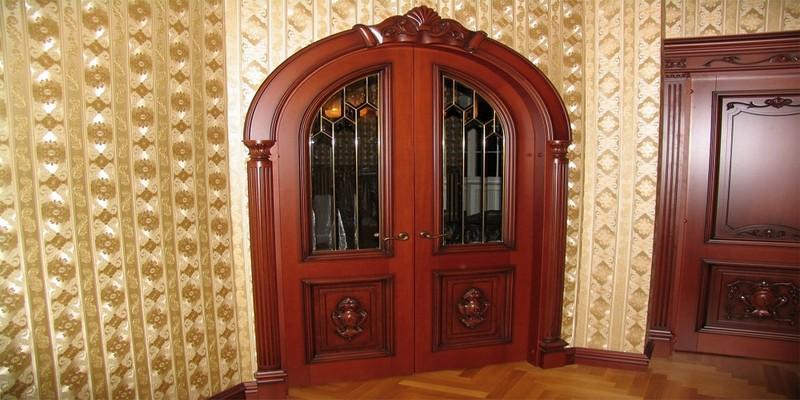 виды арочных дверей фото