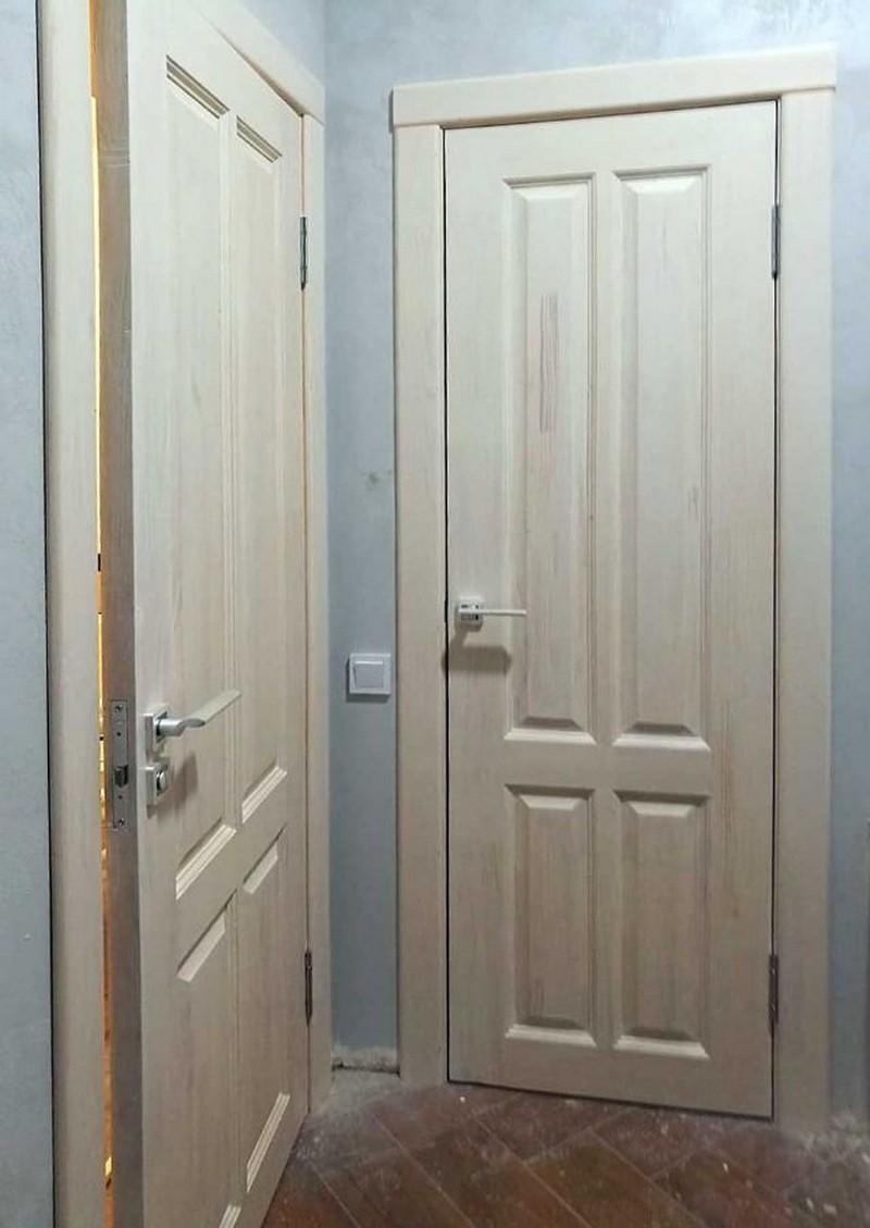 дверь из массива под покраску фото
