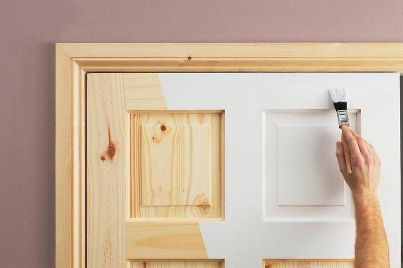 белые двери в стиле прованс фото
