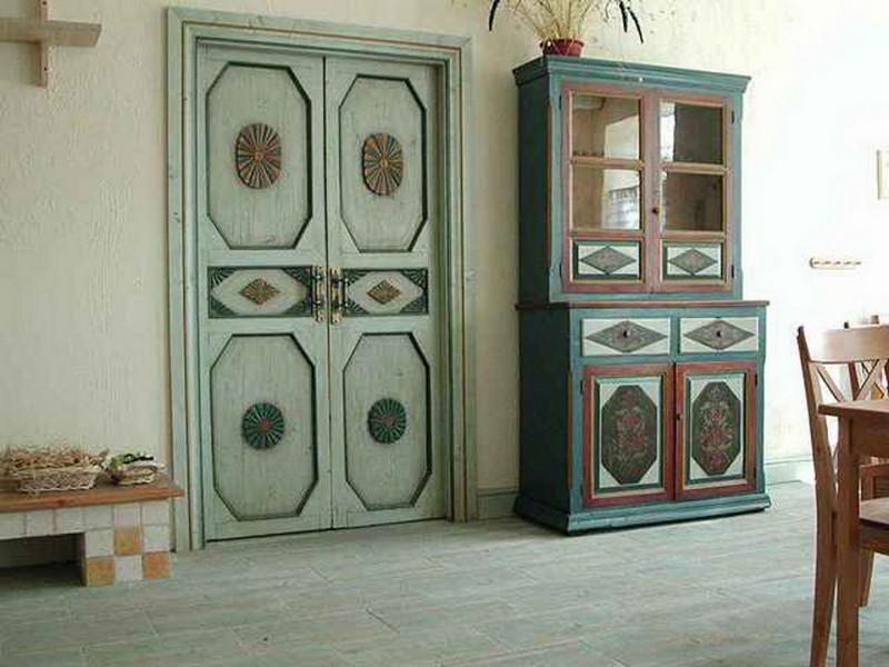 выбираем цвет дверей в стиле прованс