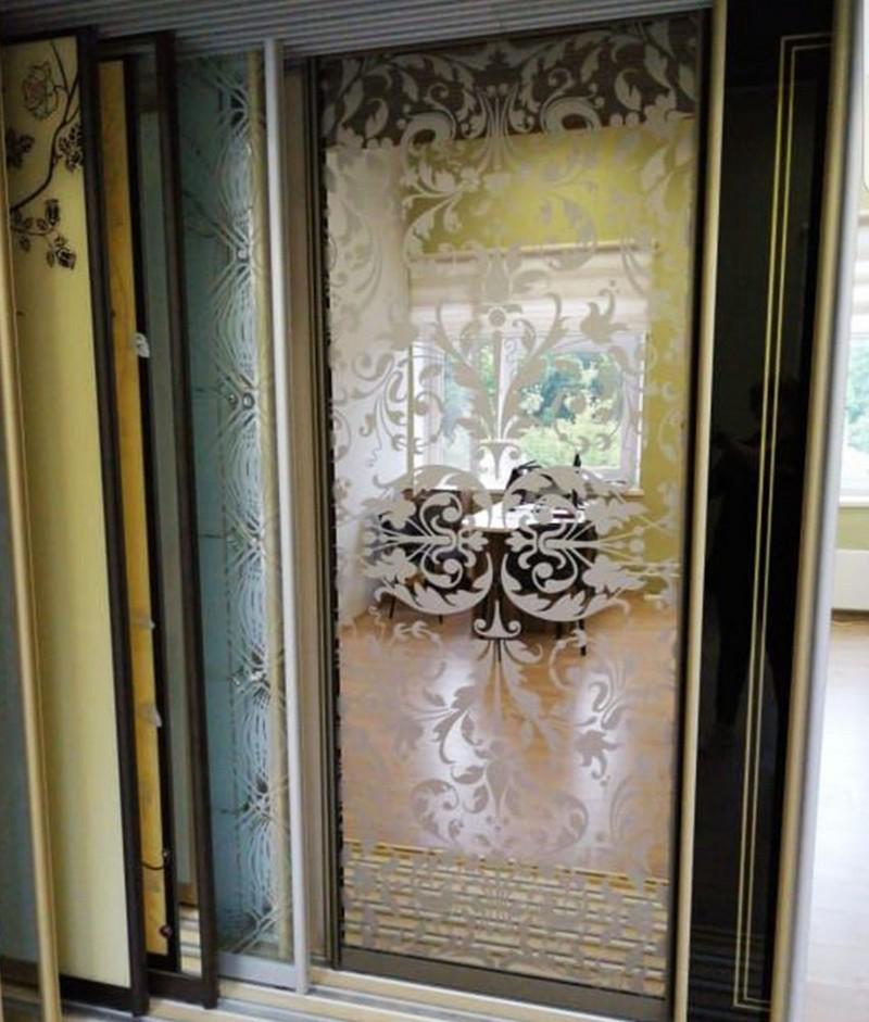 пескоструйный рисунок на дверях фото