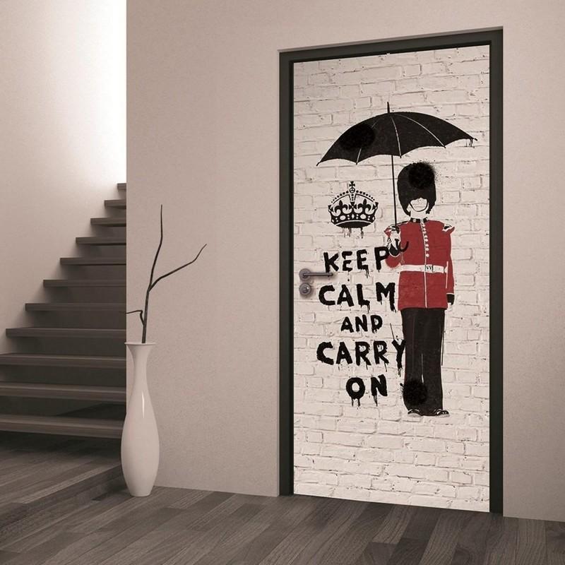 рисунки на дверях фото