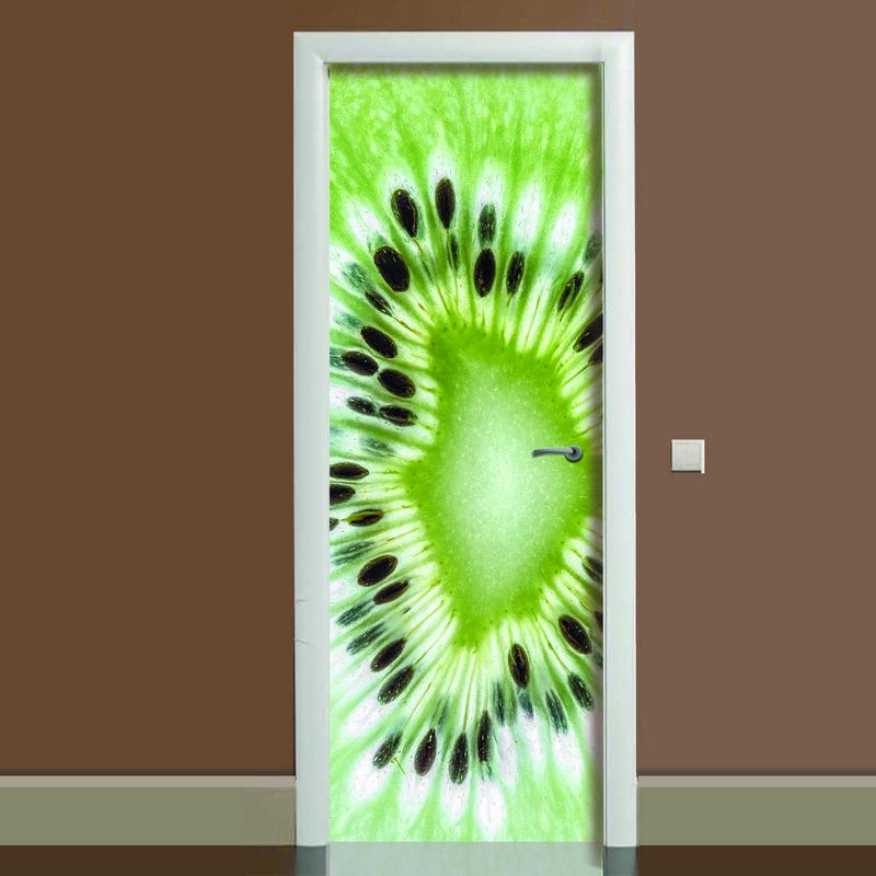 наклейки на межкомнатные двери фото