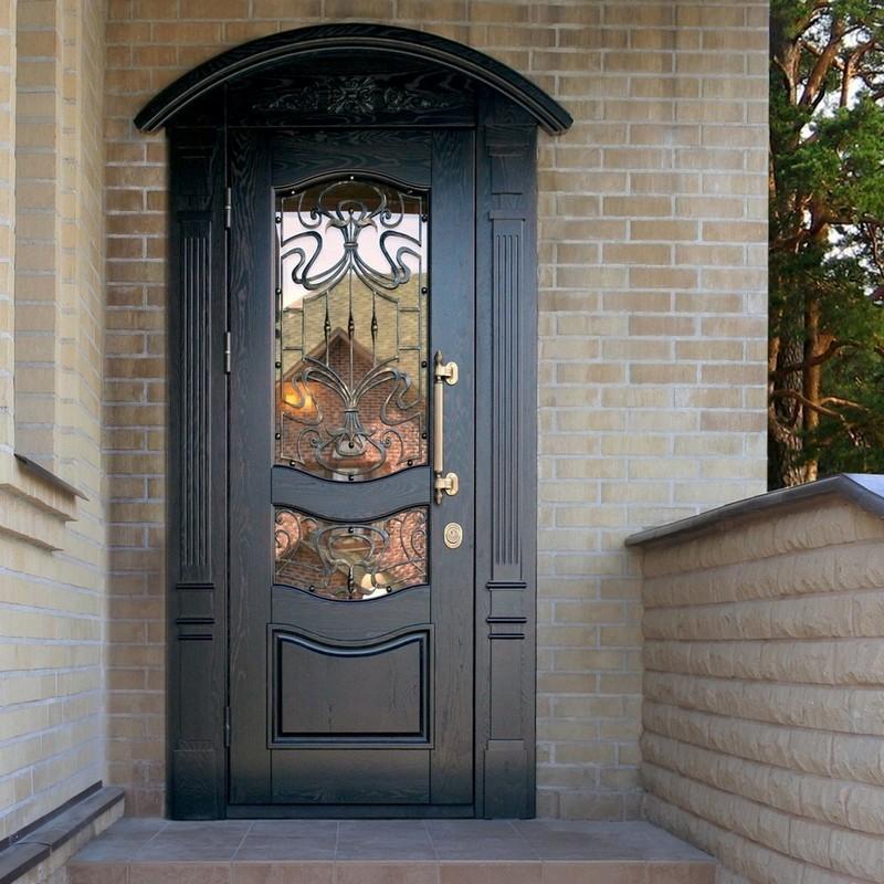 взломостойкие двери в дом фото