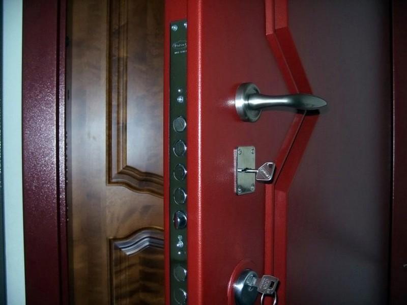 взломостойкие стальные двери фото