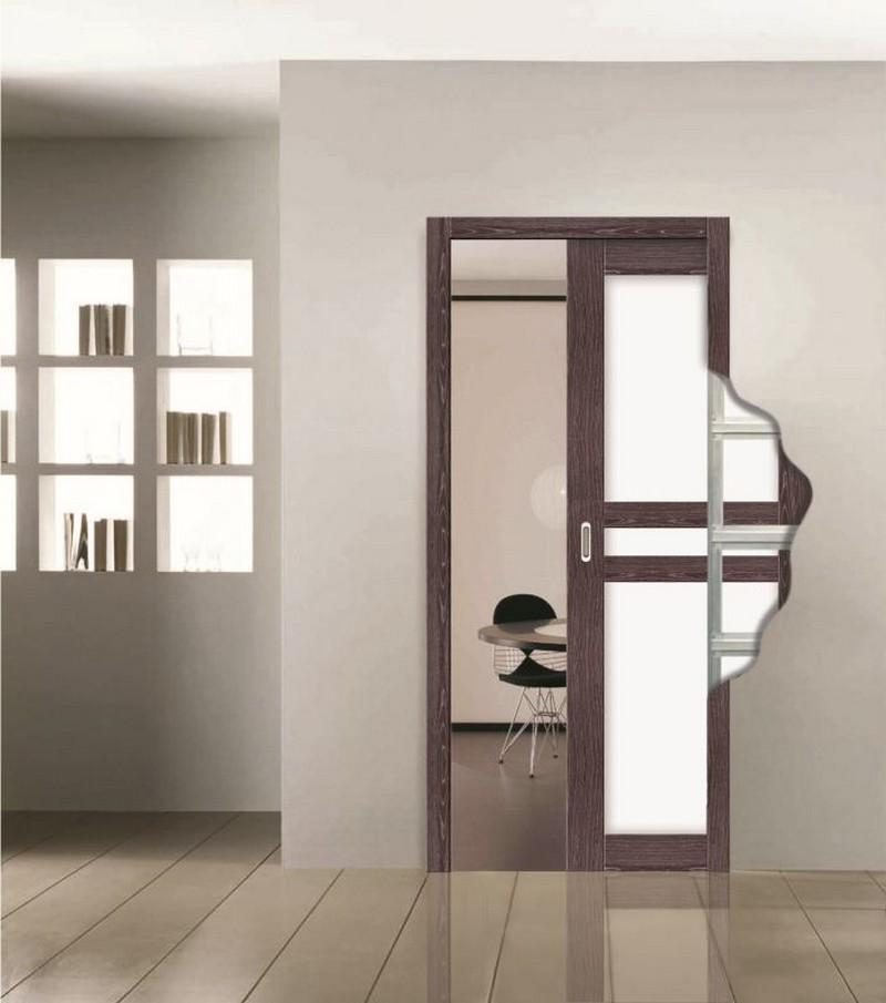 конструкция выдвижных дверей фото