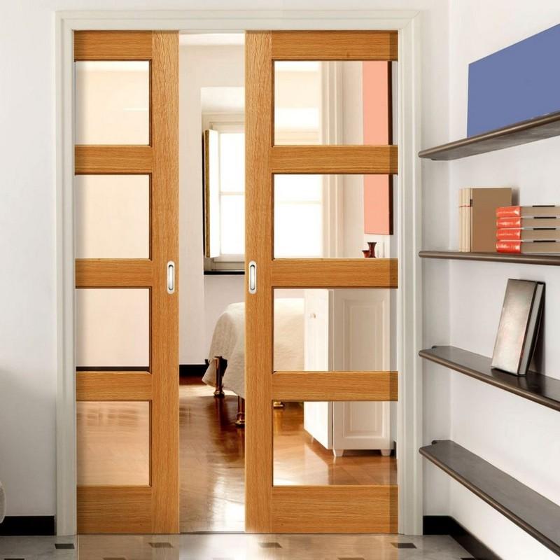 выдвижная дверь в комнату фото