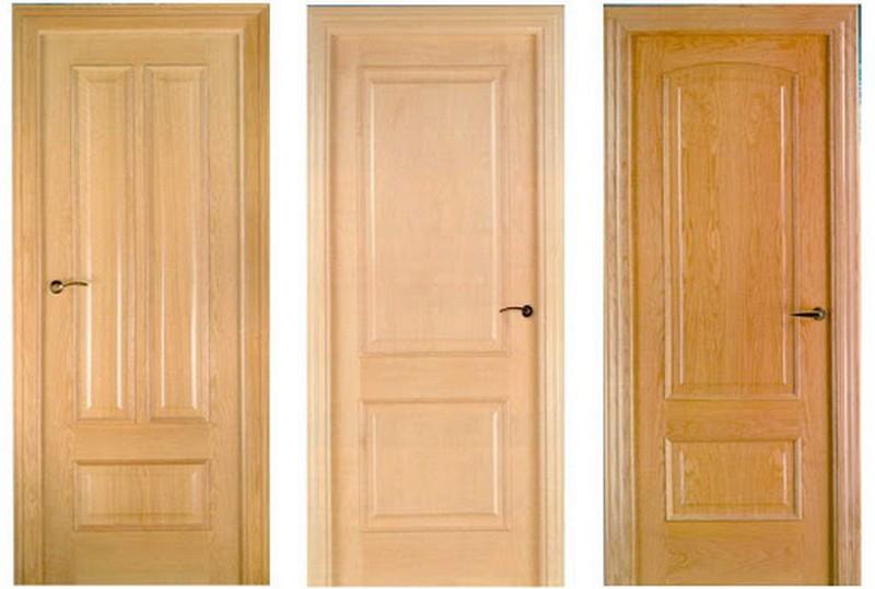 щитовые межкомнатные двери фото
