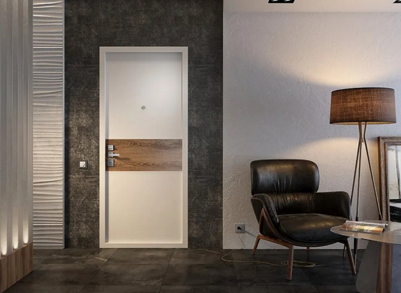 двери в стиле хай тек фото