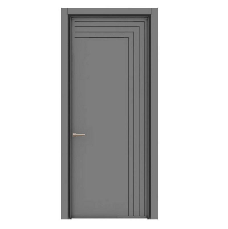 межкомнатная дверь под сталь фото