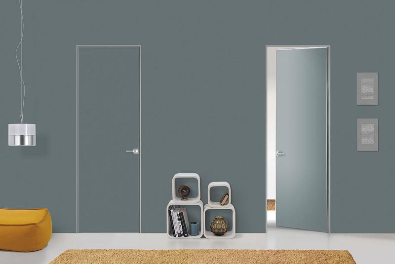 скрытые двери хай тек фото