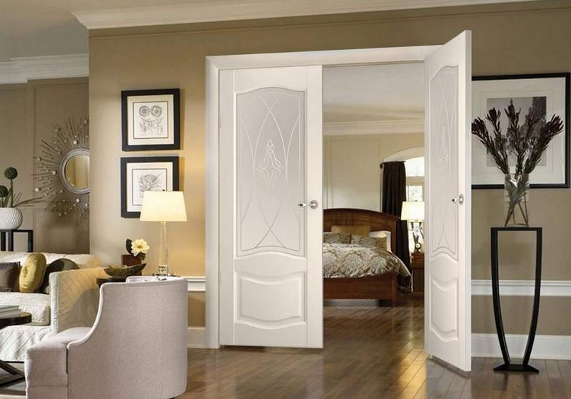 межкомнатные распашные двери фото
