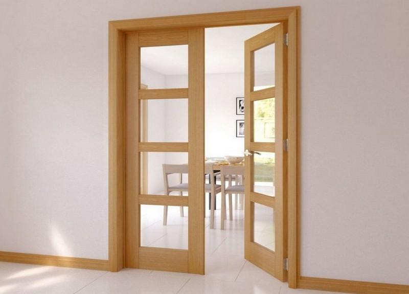 преимущества распашных дверей