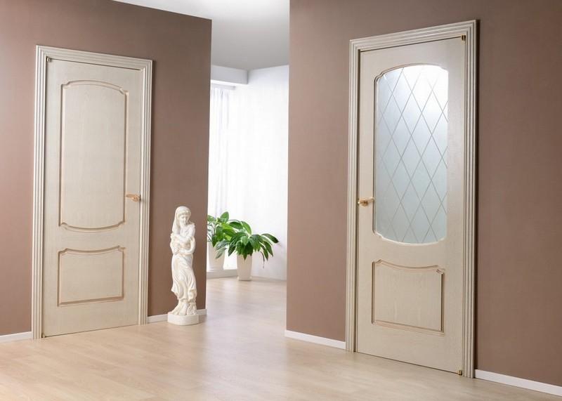 какой выбрать цвет межкомнатной двери фото