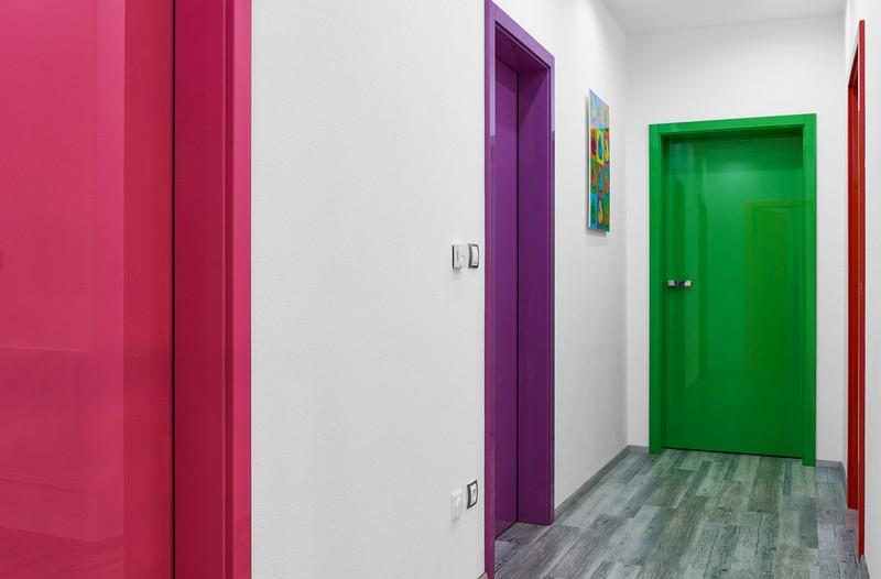 современный дизайн дверей фото