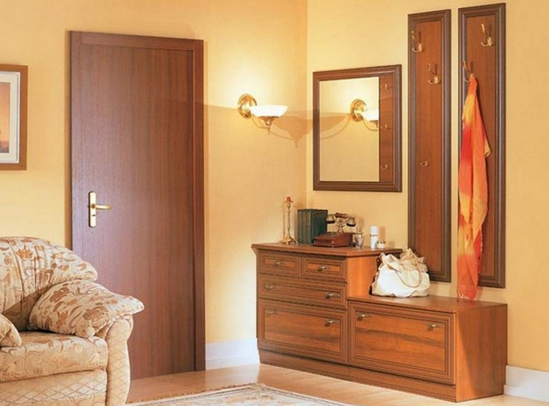 цвет дверей в тон мебели фото
