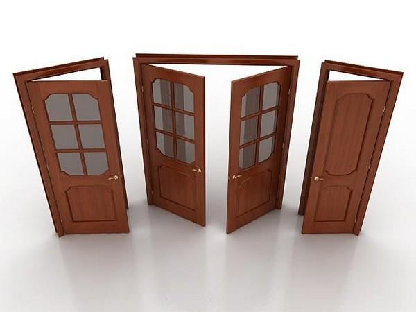 Комбинированные двери фото