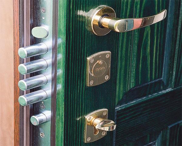 Типы дверных замков
