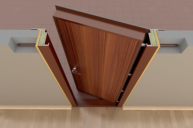 Инструкция коробки дверной установка