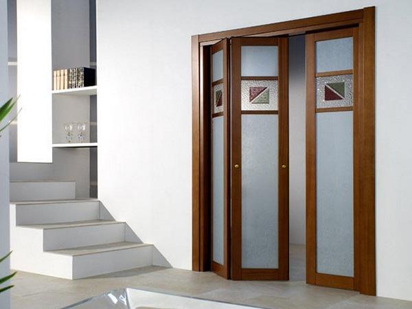 Складные двери фото