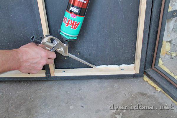 Как своими руками сделать железную дверь