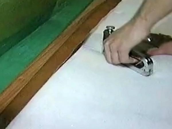 Обшивка входных дверей своими руками фото