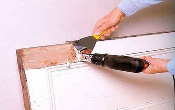 Реставрация двери своими руками