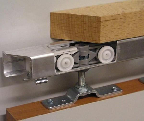 роликовый механизм для раздвижной двери фото