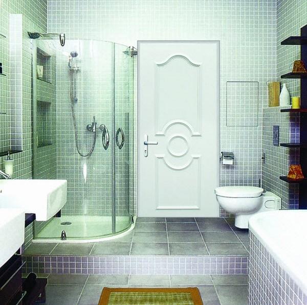 Влагостойкие двери для ванной фото