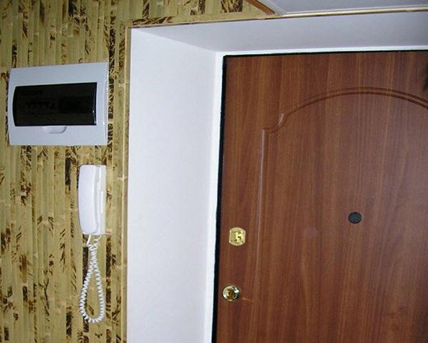отделка откосов двери штукатуркой фото
